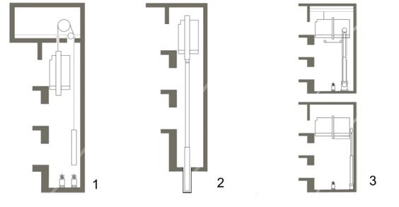 гидравлический лифт.